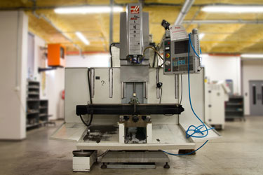 3-axis CNC milling machine HASS TM-2 X/Y/Z: 1016/406/406